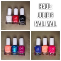 HAUL: Julie G Nail Polish Collection